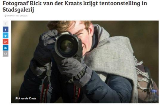 De Stad Amersfoort - Fotograaf Rick van der Kraats krijgt tentoonstelling in Stadsgalerij